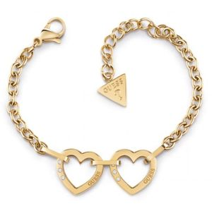 Guess Hearted Chain UBB29070-S